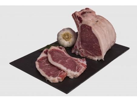 Comprar chuletas de lomo ibérico cerdo
