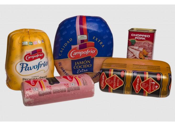 comprar jamón cocido campofrío