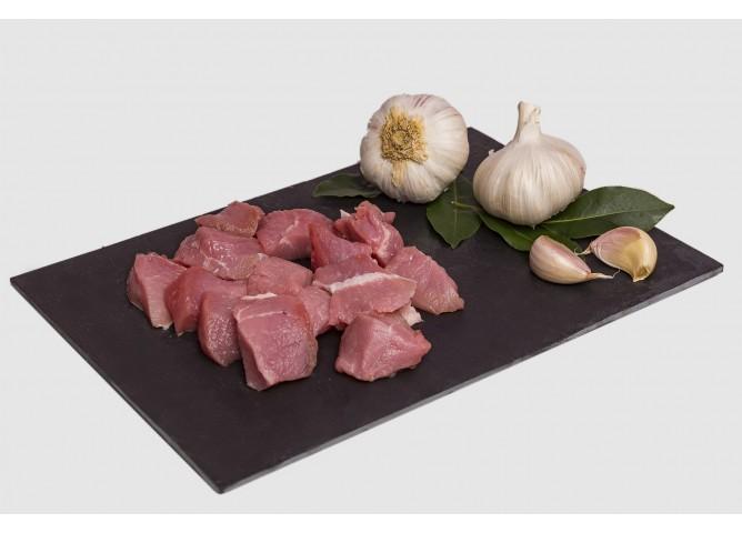 Comprar carne magra troceada guisar cerdo